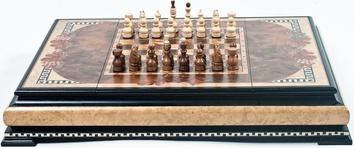 """Шахматы """"Ларец Люкс"""""""