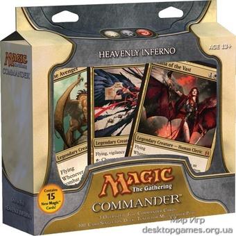 Magic. Commander Deck: Heavenly Inferno (WBR)